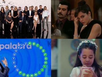 Antena 3 reina en agosto: es la TV líder y vence también en el prime time