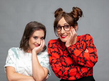 Ana Morgade y Victoria Martín, presentadora de 'yu, No te pierdas nada' de lunes a jueves