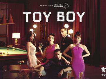 Cartel nueva temporada Toy Boy