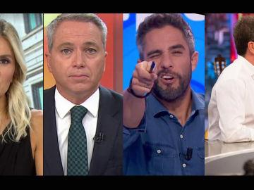 Antena 3, imbatible en Prime Time, y con los informativos y programas más vistos de la TV