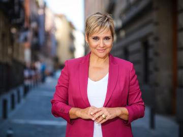 Gloria Serra, presentadora de 'Equipo de Investigación'