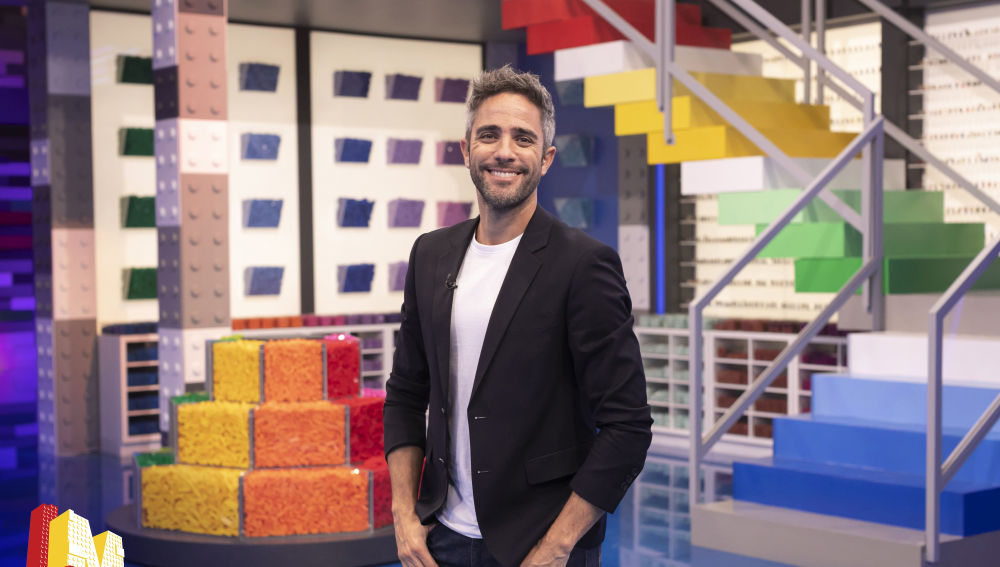 Roberto Leal, presentador de 'LEGO Masters'