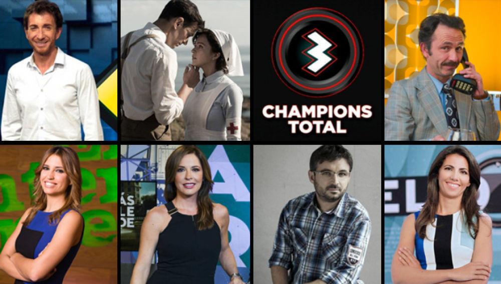 Audiencias Septiembre: Antena 3 logra la doble corona