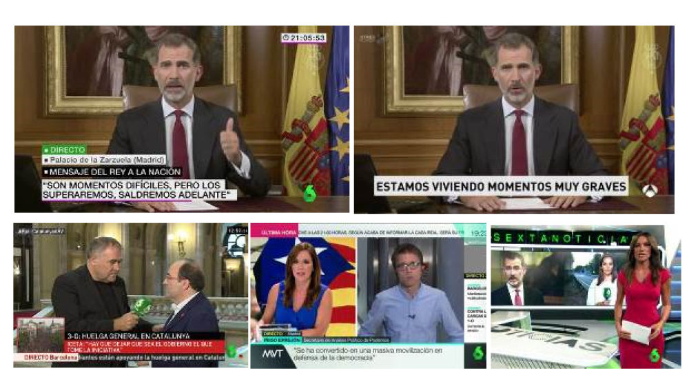 ATRESMEDIA TV, Grupo líder para seguir el discurso del Rey