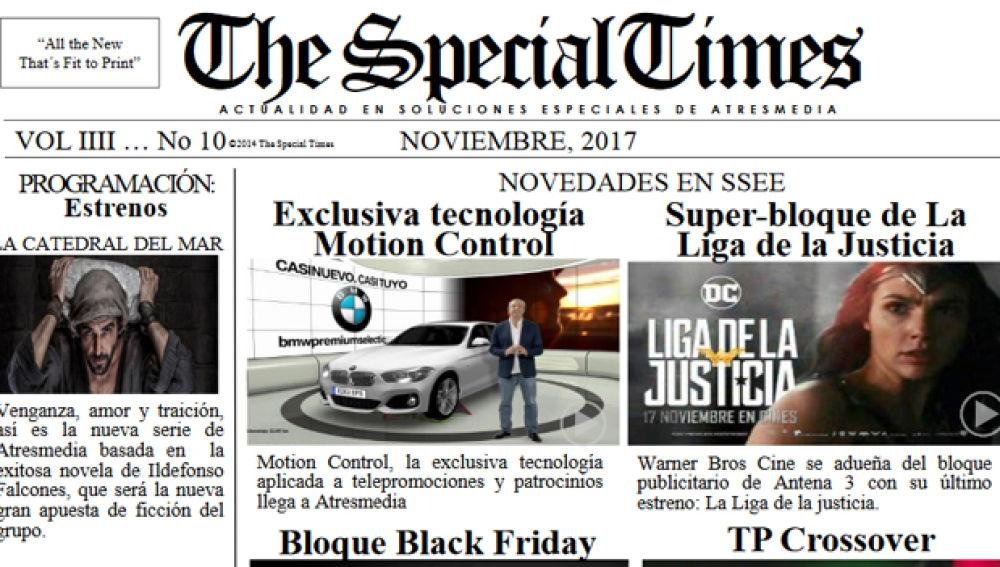 the special times diciembre 2017