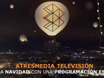 TODOS LOS CANALES DE ATRESMEDIA TELEVISIÓN  CELEBRAN ESTAS FECHAS TAN ESPECIALES  CON PROGRAMACIÓN NAVIDEÑA