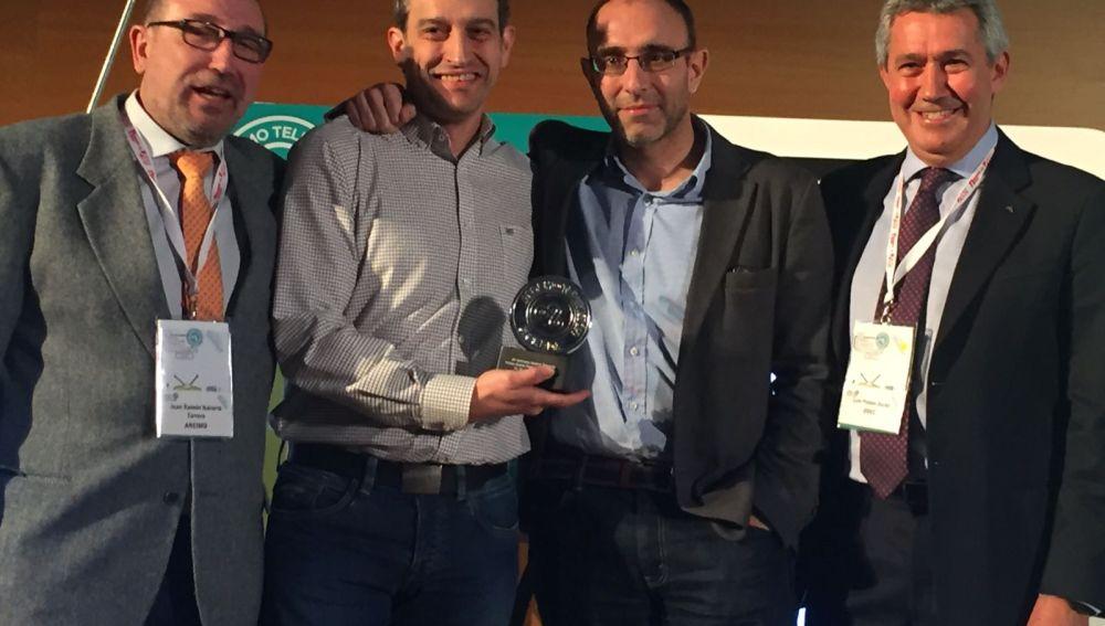 Ganadores mejor ponencia AEDEMO 2018