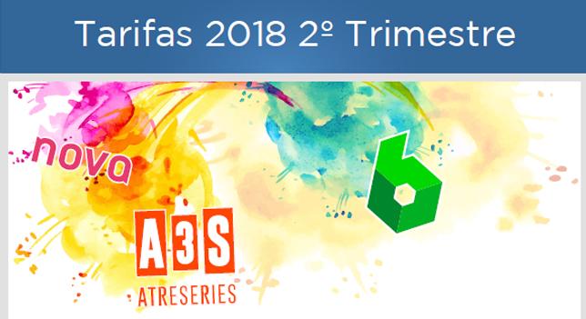 Oferta comercial TV 2º Trimestre 2018