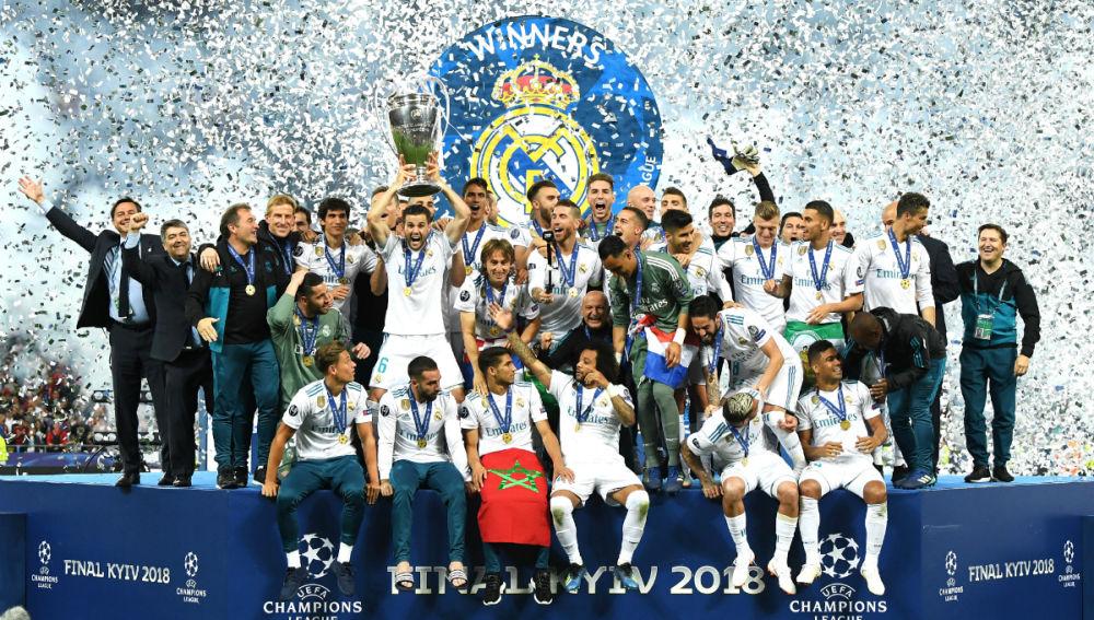 El Real Madrid levanta la 13ª Champions League