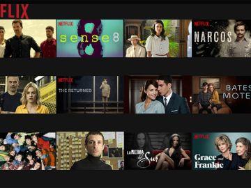 Series Atresmedia y Netflix