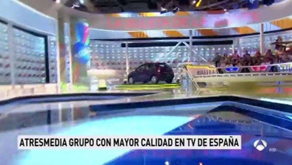 Atresmedia es el grupo con mayor calidad televisiva de España