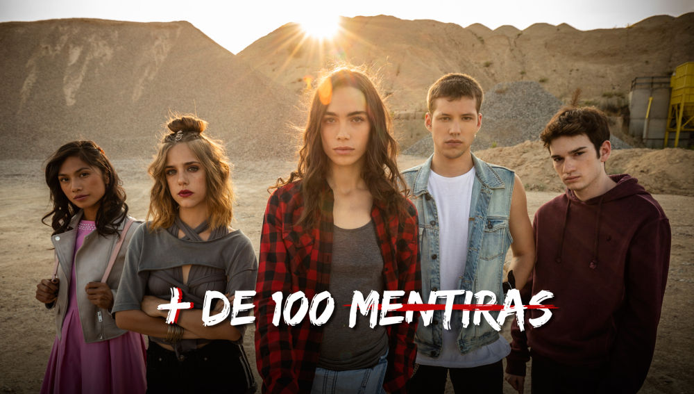 Flooxer estrena la nueva serie juvenil 'Más de cien mentiras'