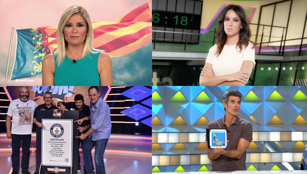 Jornada de récords para Antena 3 Noticias 1, '¡Boom!' y 'La ruleta de la suerte'