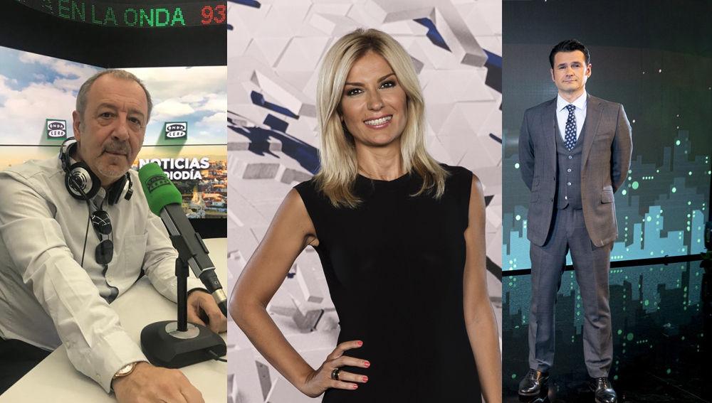 ATRESMEDIA triunfa en las Antenas de Oro con los galardones a Sandra Golpe, Iñaki López y Julián Cabrera