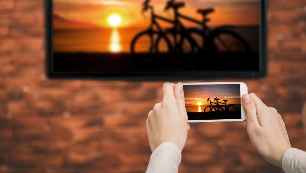 Conectividad entre el móvil y la televisión