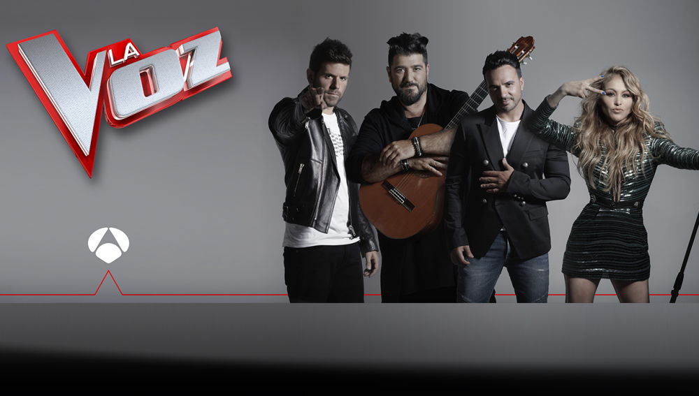 SUPER - Pablo López, Antonio Orozco, Luis Fonsi y Paulina Rubio serán los coaches de 'La Voz' en Antena 3