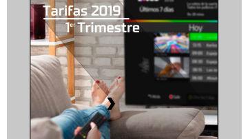 OFERTA COMERCIAL TV 1ER TRIMESTRE 2019