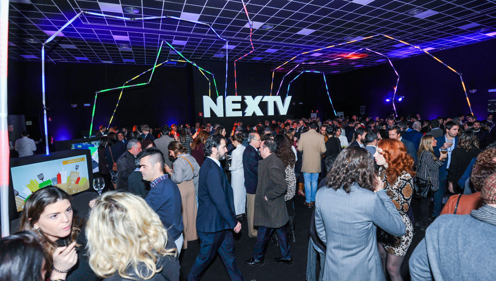 Upfront Nextv stands