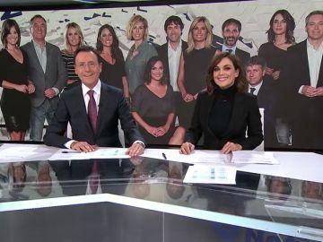 Antena 3 Noticias, los informativos más vistos y líderes absolutos por sexto mes consecutivo