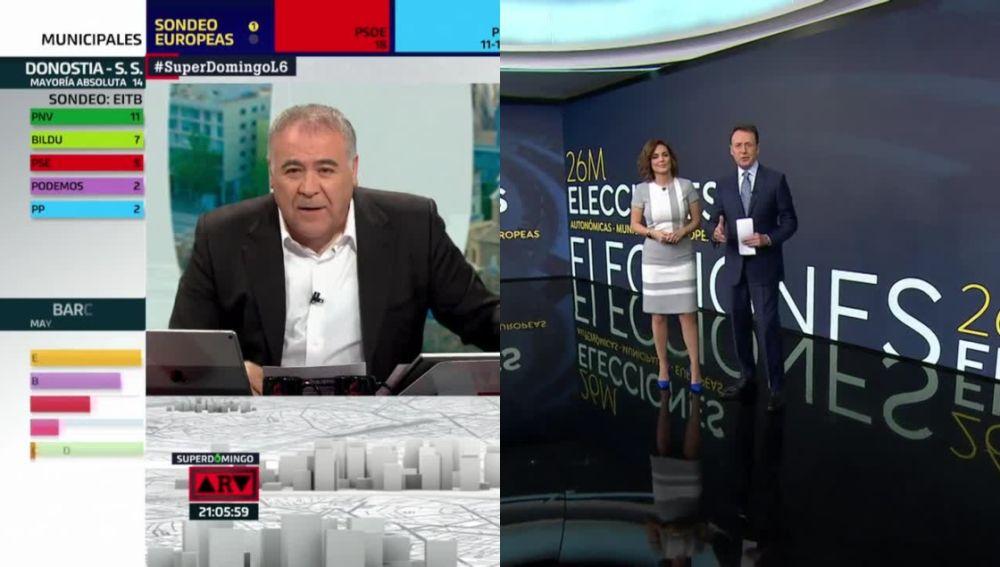 El especial de 'Al Rojo Vivo' y Antena 3 Noticias 1