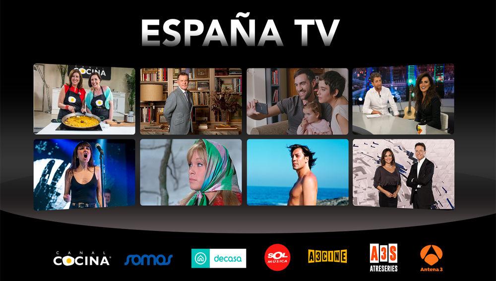 'EspañaTV', el paquete en español más completo de AMC Networks y ATRESMEDIA, llega a Portugal