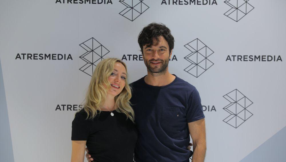 Ángela Cremonte y Javier Rey, protagonistas de 'Mentiras'