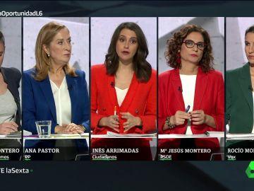 7N El Debate en laSexta: La última oportunidad - El minuto de oro de las candidatas en el debate electoral del 7N