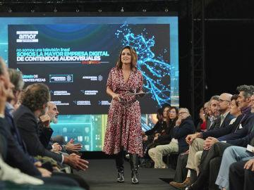 Mónica Carrillo también ha participado en el evento UPFRONT NEXTV 2019