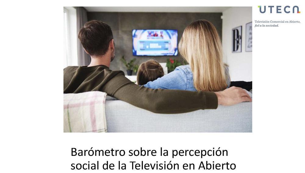 I BARÓMETRO SOBRE LA TV EN ABIERTO EN COLABORACIÓN CON BARLOVENTO COMUNICACIÓN Y DELOITTE