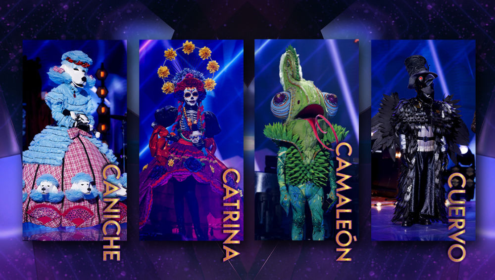 Demuestra todo lo que sabes sobre las cuatro máscaras finalistas de 'Mask Singer'