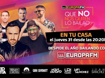 Especial Fin de Año de Europa FM: 'Que No Nos Quiten Lo Bailao'