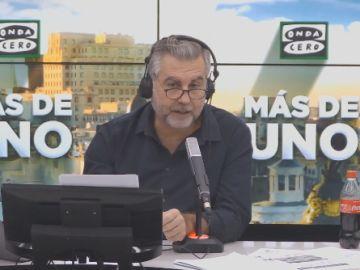Carlos Alsina durante el monólogo
