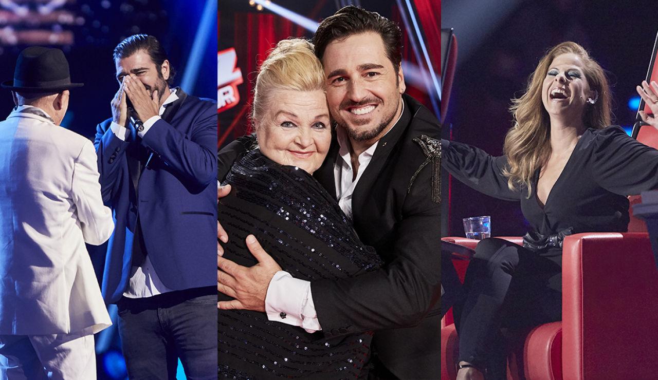 Naida gana 'La Voz Senior' en una Gran Final cargada de emoción, lágrimas y actuaciones inolvidables