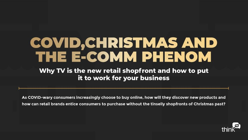 COVID,CHRISTMAS AND THE E-COMM PHENOM