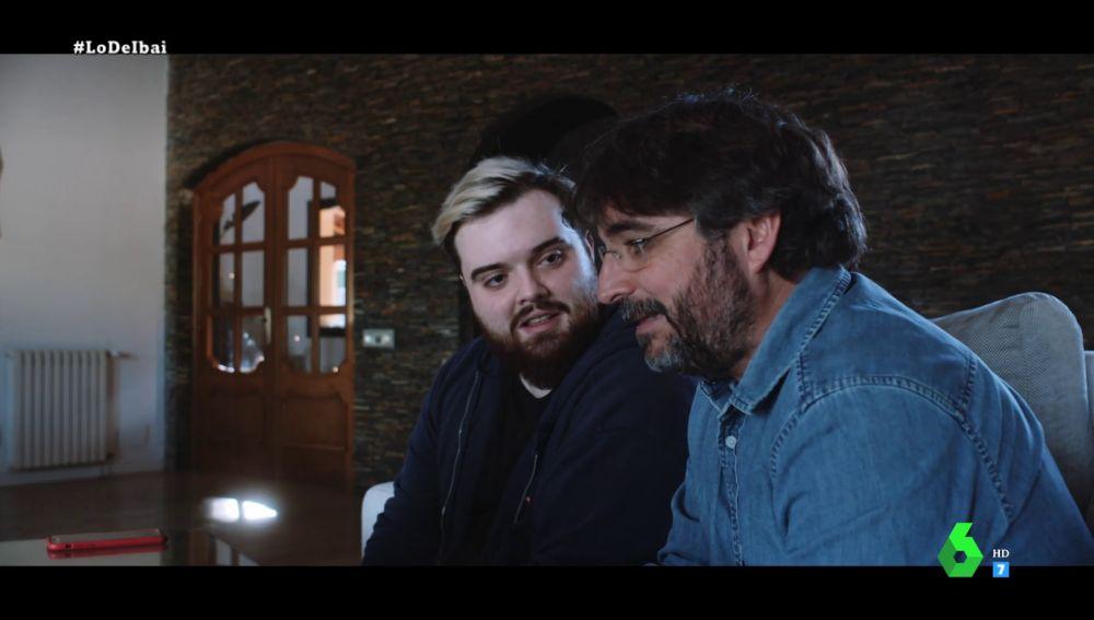Ibai Llanos y Jordi Évole