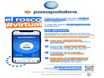 El rosco virtual de Pasapalabra