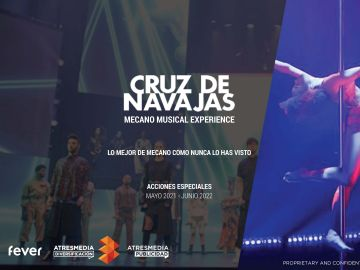 Atresmedia y Fever te acercan Cruz de Navajas: Mecano Musical Experience