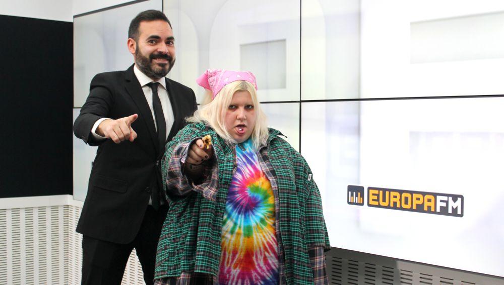 David Martos (Kinótico) y Esty Quesada (Soy una Pringada) conducirán el especial 'La noche de los Oscar' en Europa FM