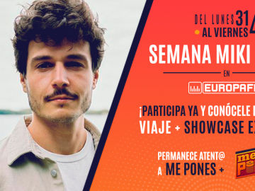 Miki Núñez te invita a vivir una experiencia única en Barcelona con EUROPA FM
