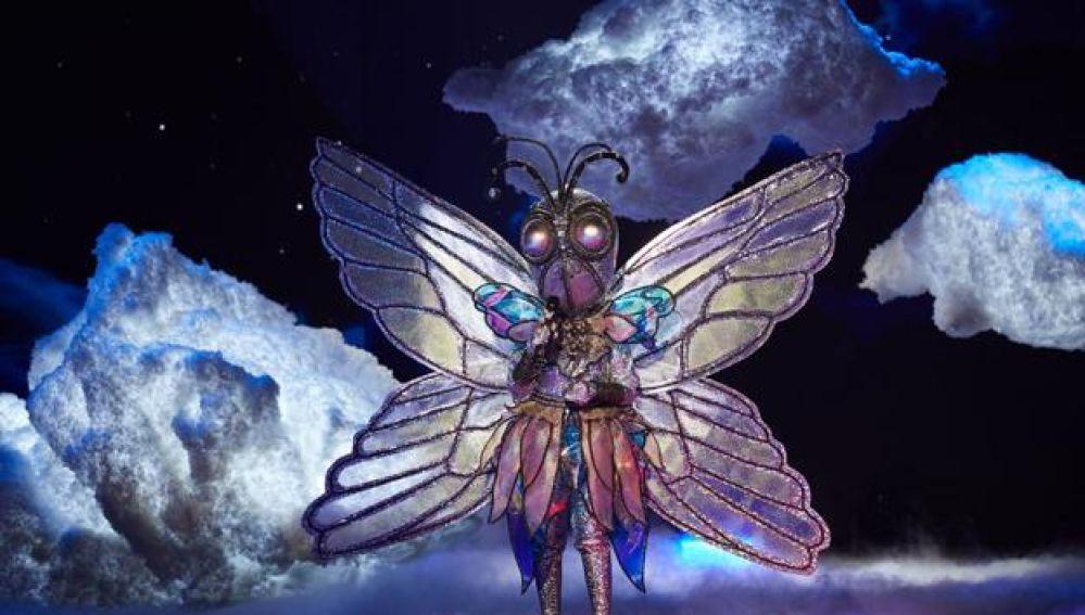 Quién está detrás de mariposa, la tercera desenmascarada en Mask Singer
