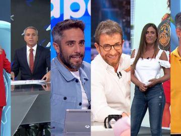 Antena 3, cadena líder del martes, continúa invencible en Prime Time y con el Top 6 más visto de la TV
