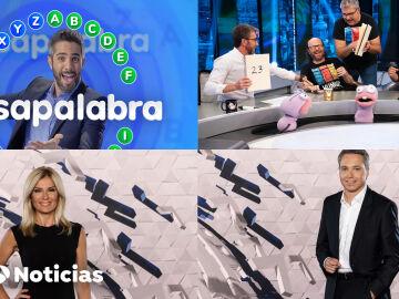Antena 3 sigue líder del Prime Time y dominando el ranking de lo más visto